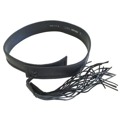 Kenzo Black wrap belt