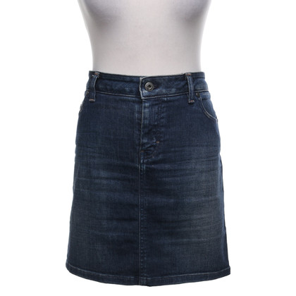 Boss Orange Denim rok met wassing