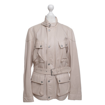 Belstaff Leather jacket in Nude