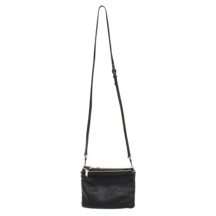 Coccinelle Three-piece handbag in black