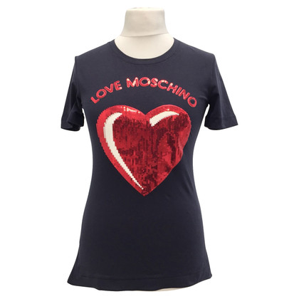 Moschino Love T-shirt with heart motif