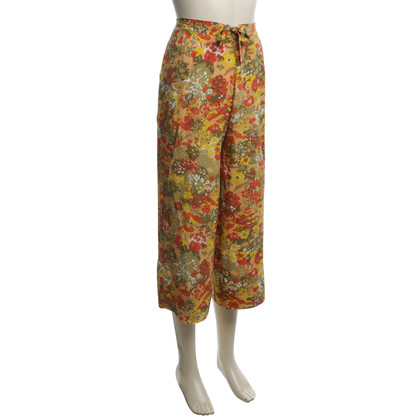 Christian Dior Kurze Hose mit Blumenmuster