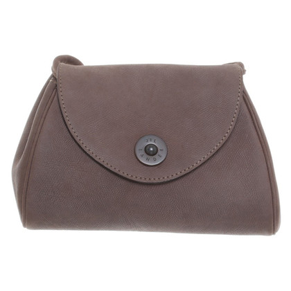 Jil Sander Shoulder bag made of suede leather