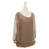 Hugo Boss Silk blouse in brown