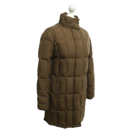 Fay Quilted coat in ocher