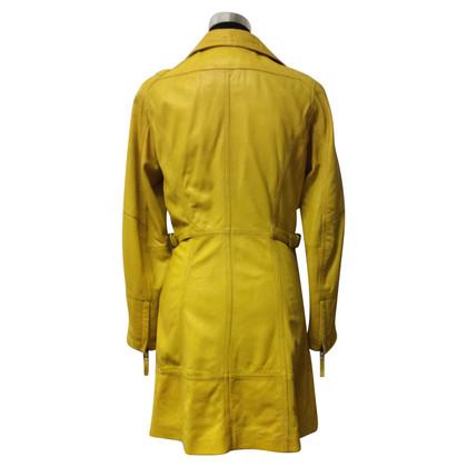 Oakwood cappotto di pelle