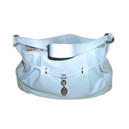 Tod's Shoulder bag leather light blue