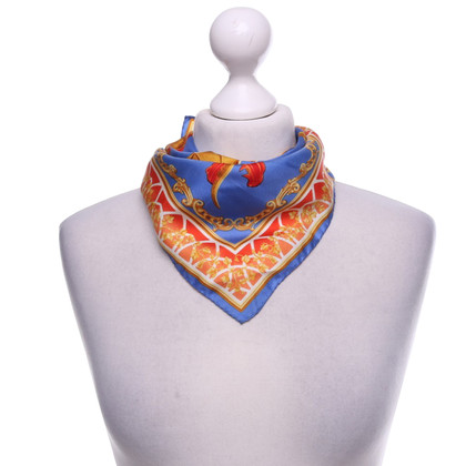 JOOP! Silk scarf with print