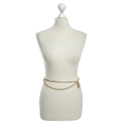 Chanel Gürtel mit Schmucksteinen