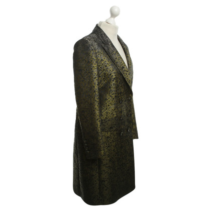 Max Mara Jacquard jacket in green