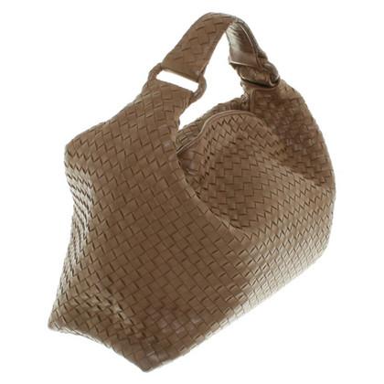 Bottega Veneta sac à bandoulière de couleur ocre