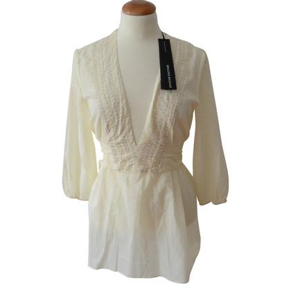 Bruuns Bazaar Geborduurde wrap blouse