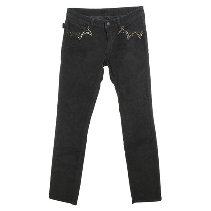 Zadig & Voltaire Corduroy pants with rivets