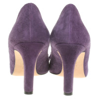 L.K. Bennett pumps in violet