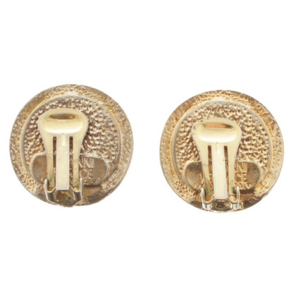 Versace Gold colored ear clips