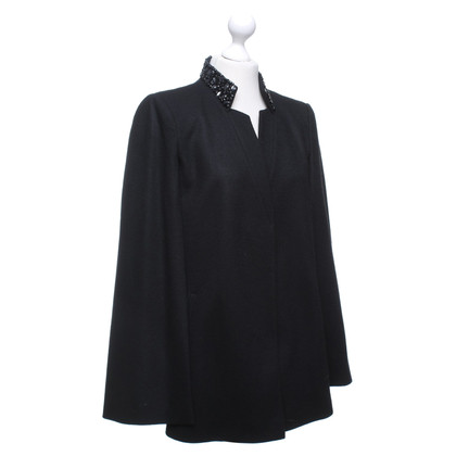 Laurèl Cape jas in zwart