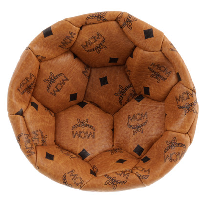 MCM Football with logo print