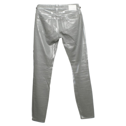 Drykorn Coated jeans in silver