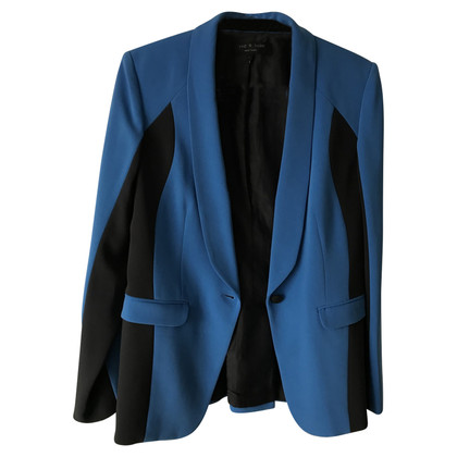 Rag & Bone Blazer in blue / black