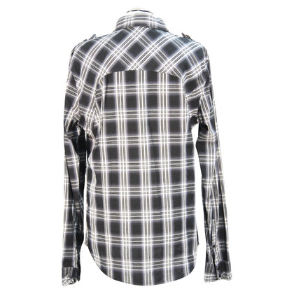 All Saints Checkered blouse