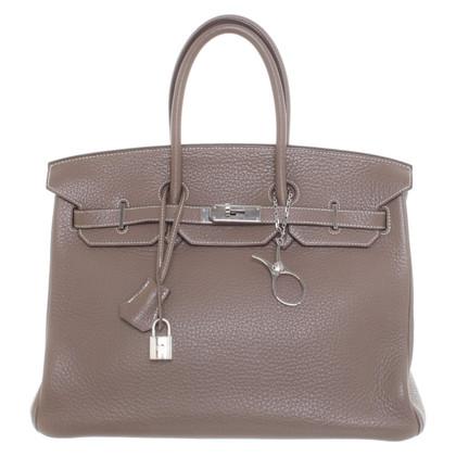 "Hermès ""Birkin Bag 35 Clémence leather"""