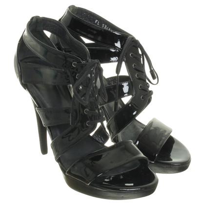 Stuart Weitzman Sandals patent leather