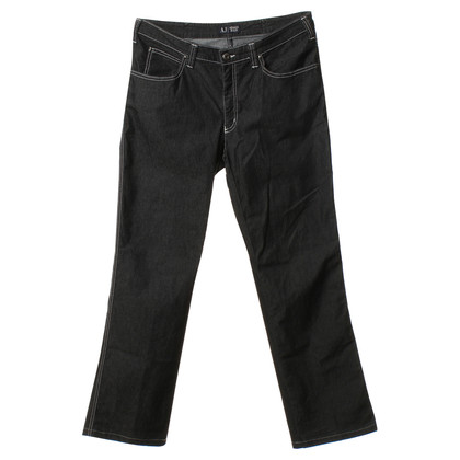 Armani Jeans Jeans in donkergrijs
