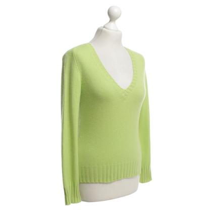 Iris von Arnim Cashmere sweater in green