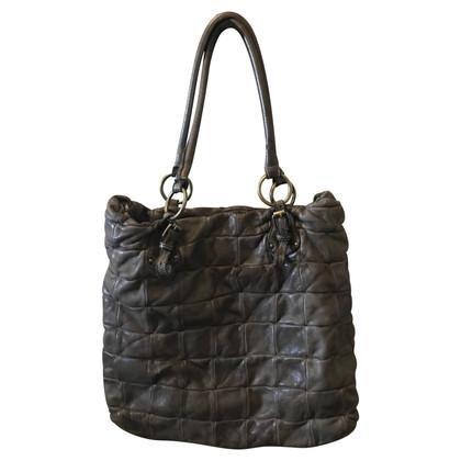 L'autre Chose leather handbag