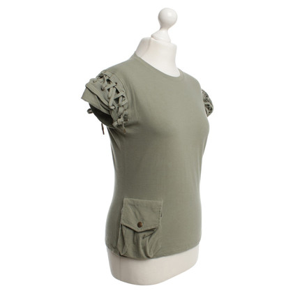 Christian Dior Top in Olive