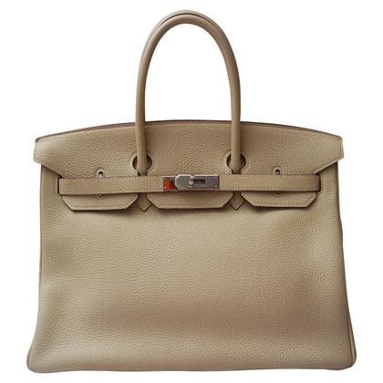 """Hermès """"Birkin 35 Parchemin"""""""