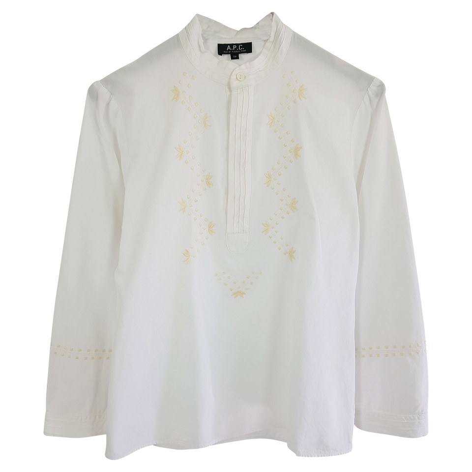 A.P.C. Embroidered blouse