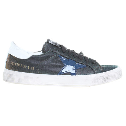 Golden Goose Sneakers with star application
