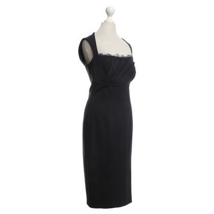 Blumarine Kleid in Dunkelblau