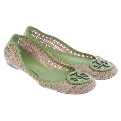 Tory Burch Ballerinas in material mix