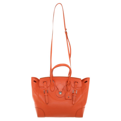 Ralph Lauren Handtasche in Orange