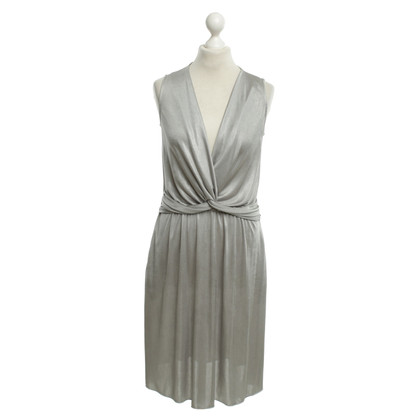 Moschino Love V-neck dress in gray