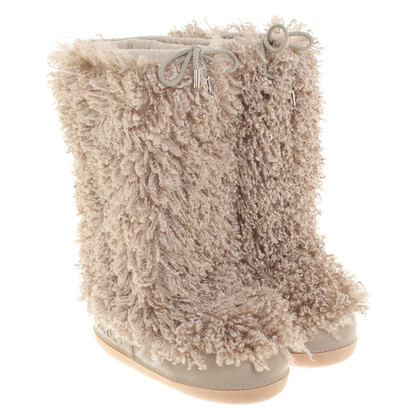 Casadei Boots with faux fur