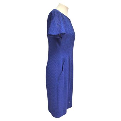 Akris Katoenen jurk met reliëf