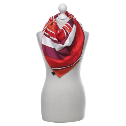 Christian Dior Zijden sjaal met motief druk