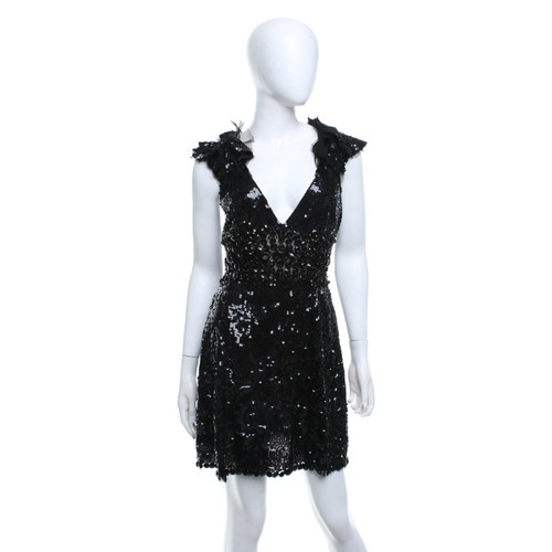 Jenny Packham Sequined Mini Length Dress Second Hand Jenny Packham
