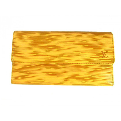 Louis Vuitton Wallet 'Sarah Epi' in yellow