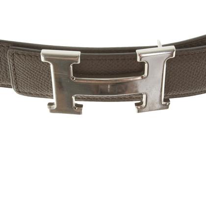 Hermès Gürtel in Taupe