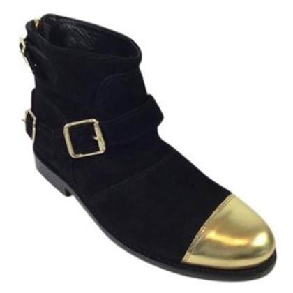 Balmain X H&M Stiefel aus Wildleder