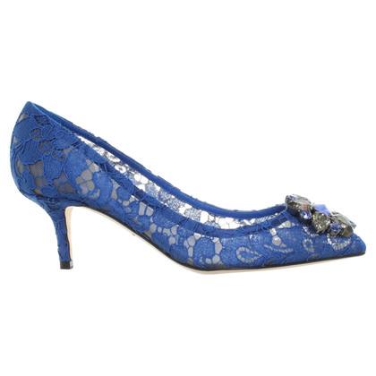 Dolce & Gabbana pumps of lace