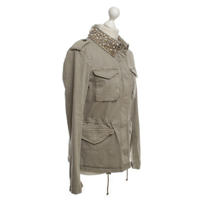 Blonde No8 Jacket in Grey