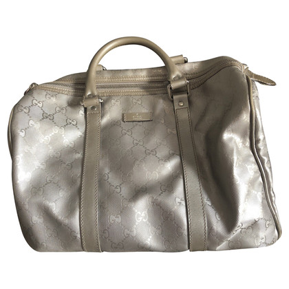 Gucci Silver Colored Handbag