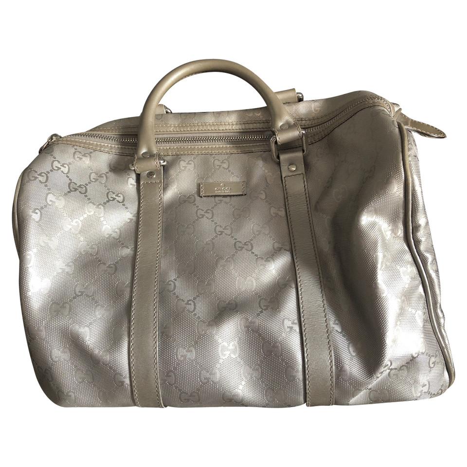 Gucci Silberfarbene Handtasche