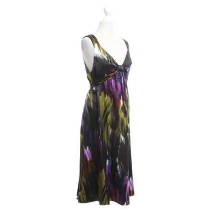 Ted Baker Silk dress with pattern