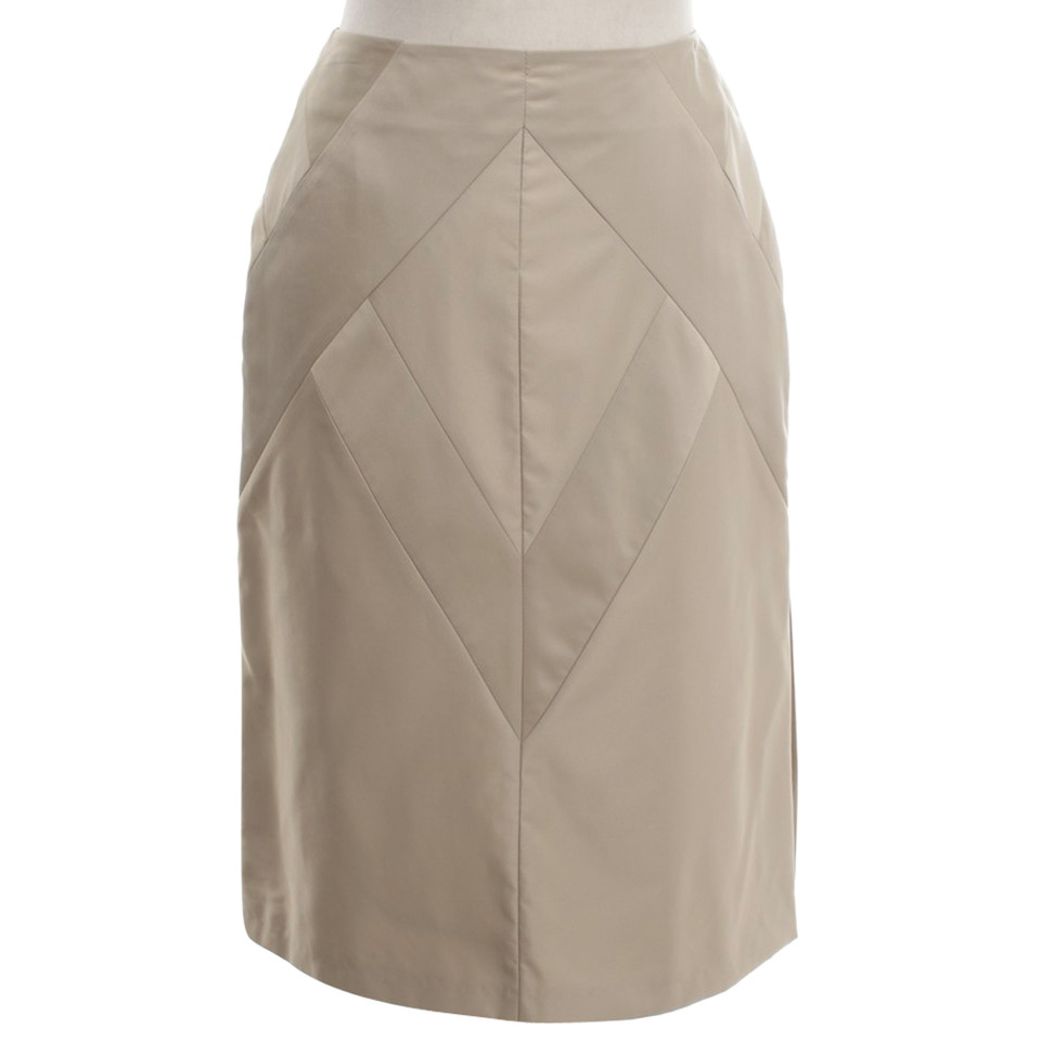 Strenesse Pencil Skirt in Beige / grey